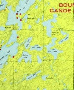 Camp Site Map