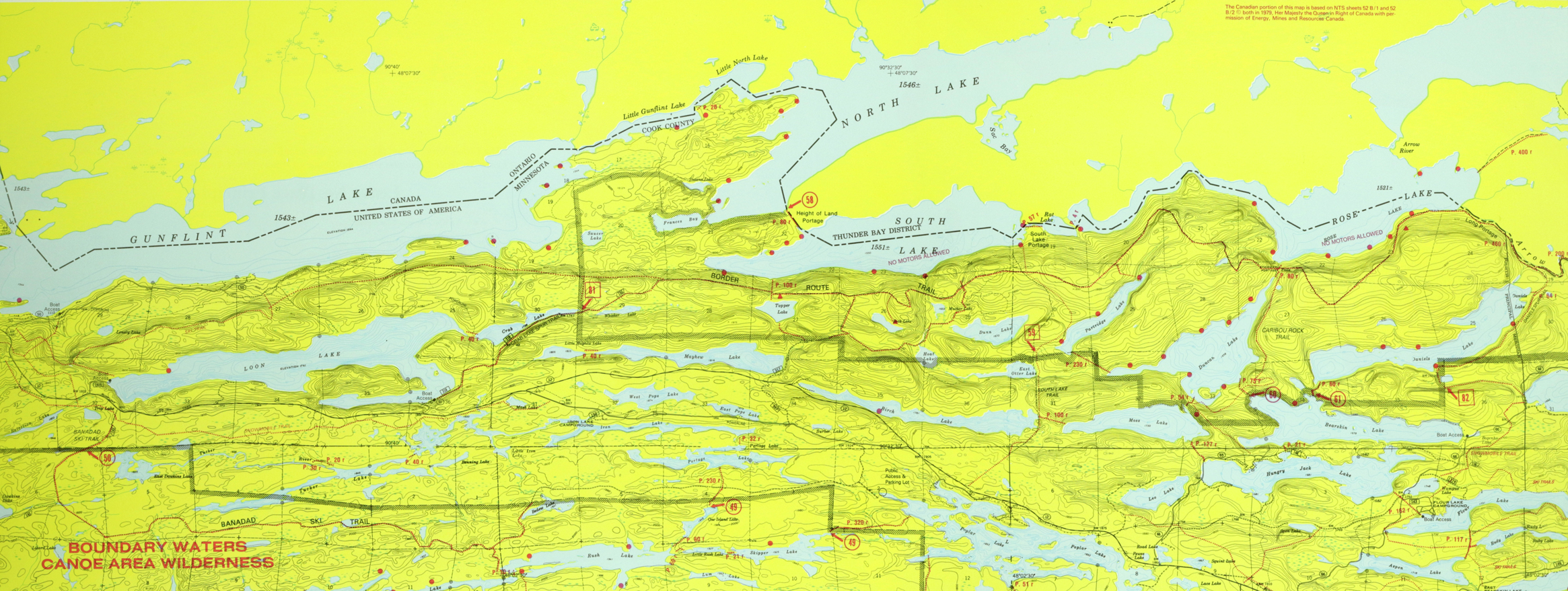 Canadian Border Route Seagull Canoe Outfitters Lakeside Cabins