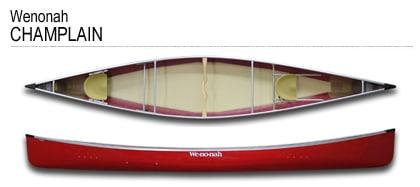 Wenonah Champlain - Seagull Canoe Outfitters & Lakeside Cabins